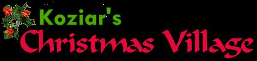 Koziar's Christmas Village - logo