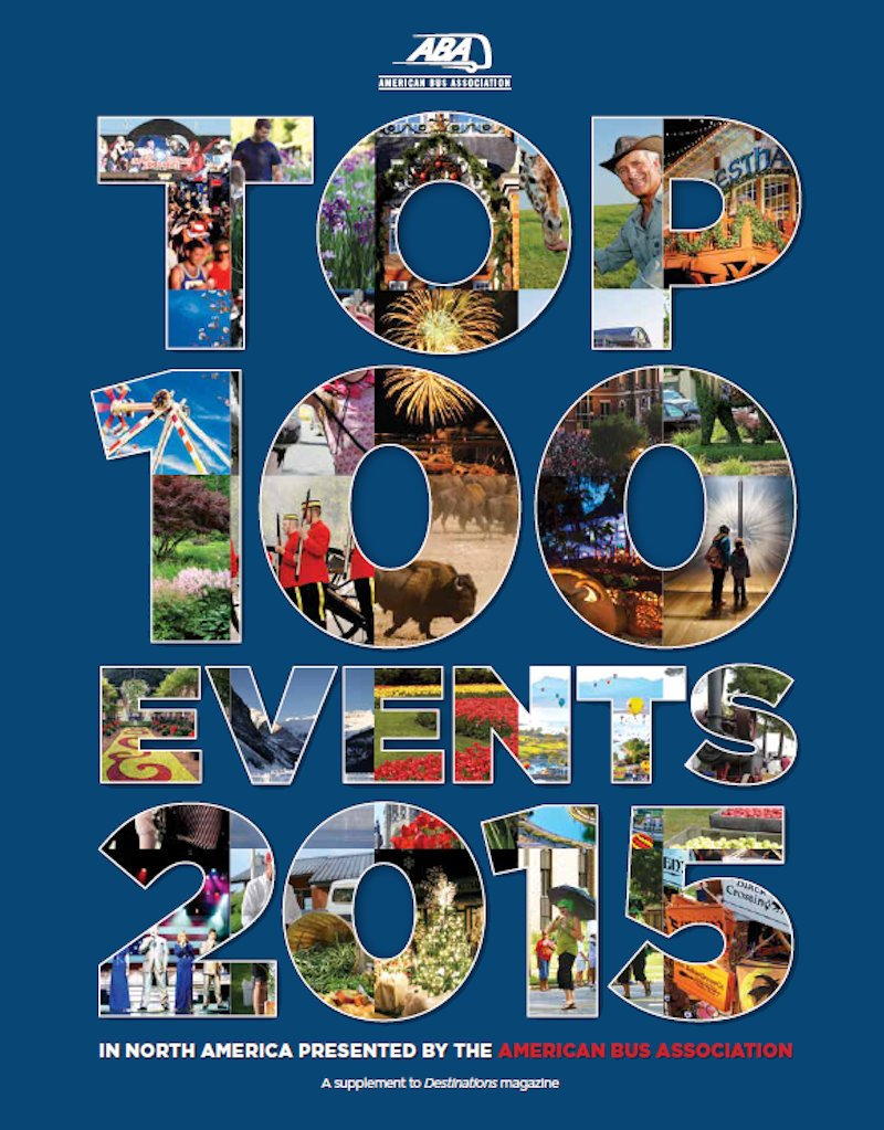 American Bus Association Top 100 Events 2015