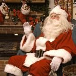 Santa Welcomes You to Koziar's