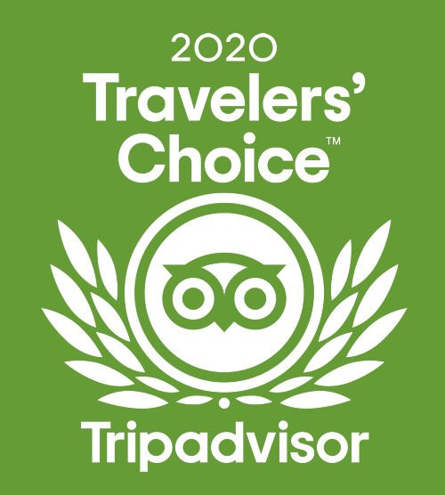 Tripadvisor 2020 Traveler's Choice Award